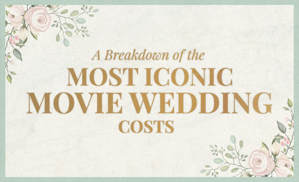 A breakdown of the most iconic movie wedding costs.